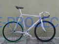 Fixed Gear, ostre koło BIOBIKE (Mavic Ellipse, Miche, Dura-Ace)