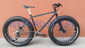 BUSTER - FAT BIKE Black&White Deore/SLX 19,5""