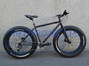 BUSTER - FAT BIKE Blue Deore/SLX 19,5""